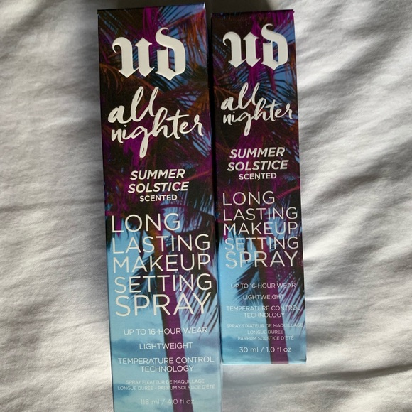 Urban Decay Other - 2 New Urban Decay All Nighter Setting Spray